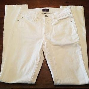 NYDJ White Skinny Jean
